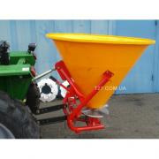Fertilizer spreader single disc 500 kg (Poland)