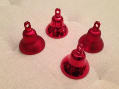 "Toys on the Christmas tree ""jingle bells"" red"