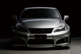 Tuning External A new tuning kit for cars Wald Lexus is-F