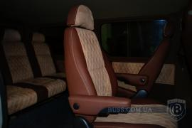 Tuning Internal Upholstery of the salon, re-equipment of vehicles