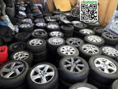 Used tires and disks WHOLESALE. Wheels in zborі, tires, tires, rubber WHOLESALE