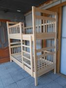 wooden bunk bed convertible eco
